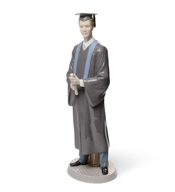 His Commencement Lladro Figurine