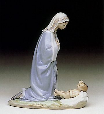Holy Night Lladro Figurine