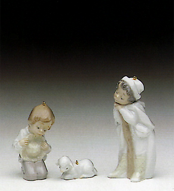 Holy Shepherds (l.e.) Lladro Figurine