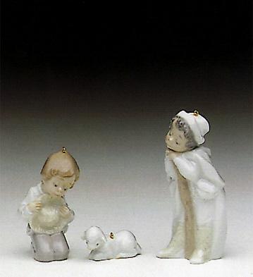 Holy Shepherds (l.e.) Lladro Figurine