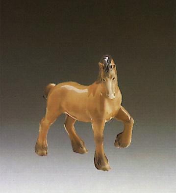 Horse 2 Lladro Figurine