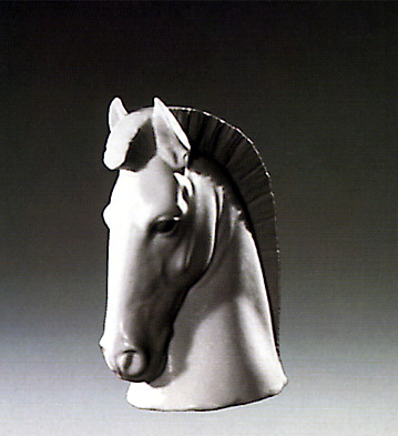 Horse Head Bookend Lladro Figurine