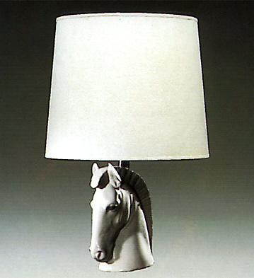 Horse Head Lamp Lladro Figurine