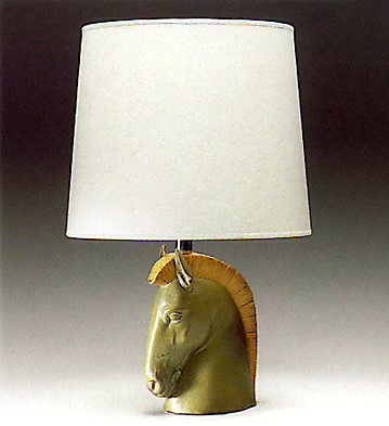 Horse Head Lamp Lladro Figurine