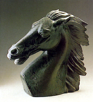 Horse Head Lladro Figurine
