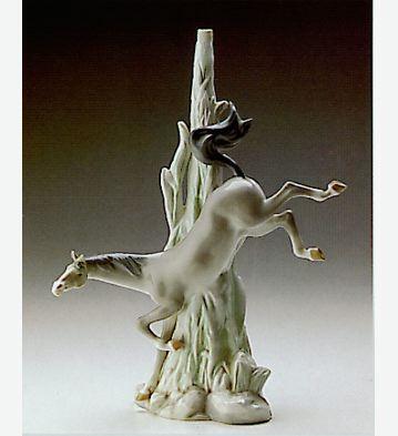 Horse Lamp Lladro Figurine