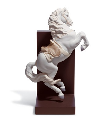 Horse On Courbette Lladro Figurine