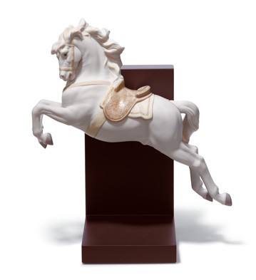 Horse On Pirouette Lladro Figurine