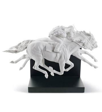 Horse Race Lladro Figurine