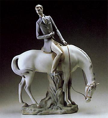 Horseman Lladro Figurine
