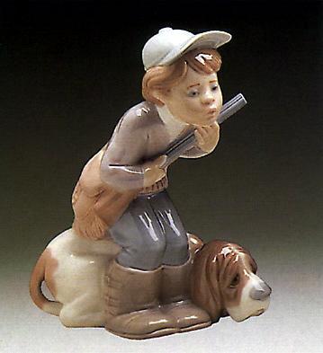 Hunter Puppet Lladro Figurine