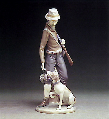 Hunter W.dog Lladro Figurine