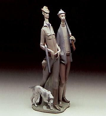 Hunters Lladro Figurine
