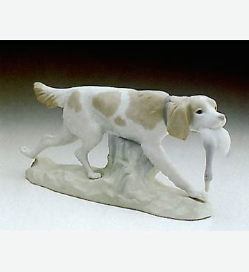 Hunting Dog Lladro Figurine