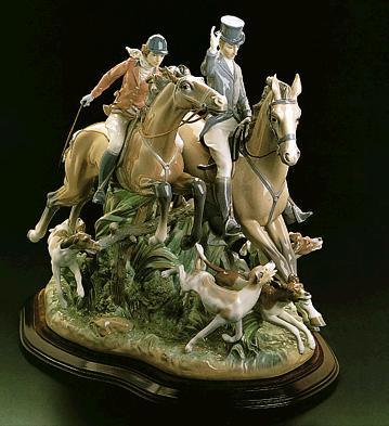 Hunting (l.e.) (b) Lladro Figurine