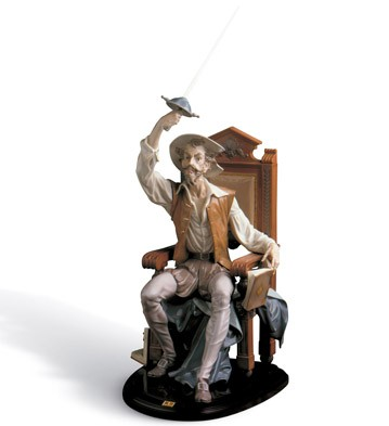 I Am Don Quixote Lladro Figurine
