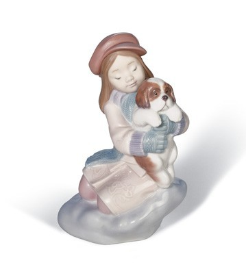 I'll Keep You Warm Lladro Figurine
