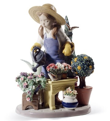 In My Garden Lladro Figurine
