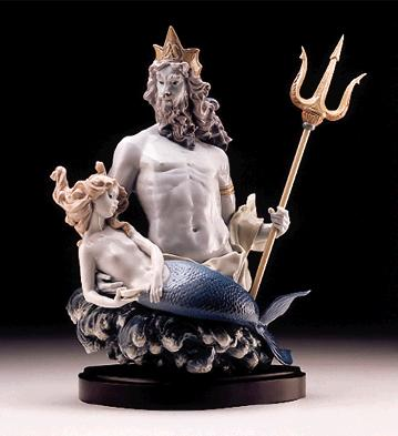 In Neptune's Waves (b) Lladro Figurine