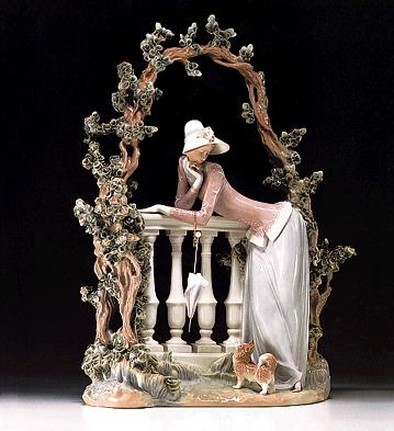 In The Balustrade Lladro Figurine