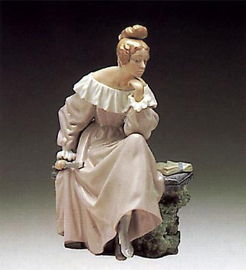 In The Garden Lladro Figurine