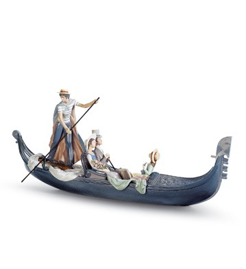 In The Gondola Lladro Figurine
