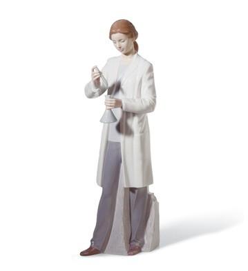 In The Laboratory Lladro Figurine