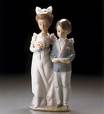 In The Procession Lladro Figurine