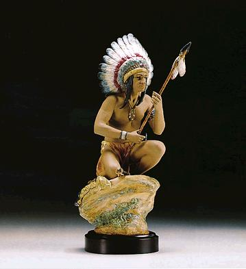 Indian Chief (l.e.) (b) Lladro Figurine