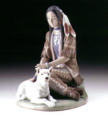 Indian Maiden Lladro Figurine