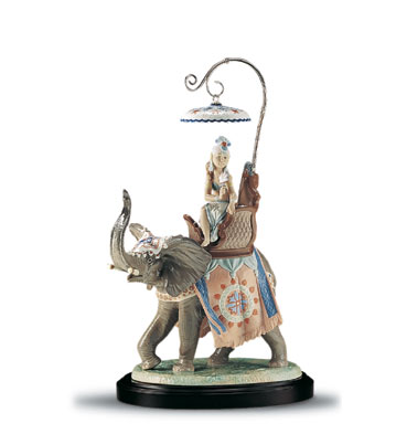 Indian Princess (l.e.) (b Lladro Figurine