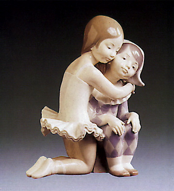 Infantile Candour Lladro Figurine