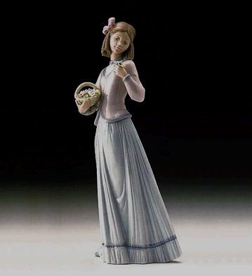Innocence In Bloom Lladro Figurine