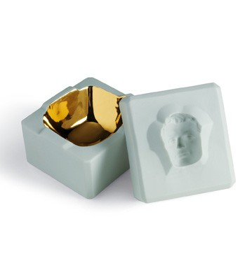 Inside Out Box - Man (turquoise) Lladro Figurine