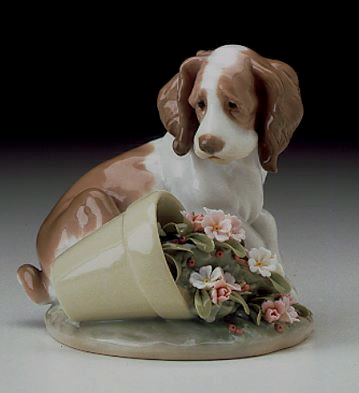 It Wasn't Me! Lladro Figurine