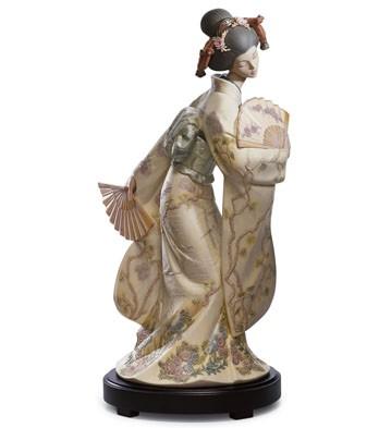 Japanese Elegance Lladro Figurine
