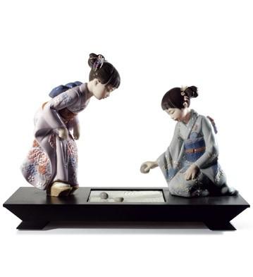 Japanese Garden Lladro Figurine