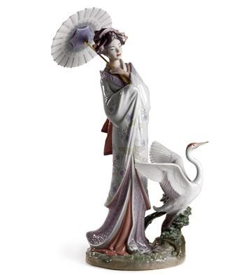 Japanese Portrait Lladro Figurine