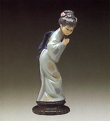 Japanese Sayonara Lladro Figurine