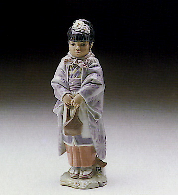 Japanese Woman Lladro Figurine
