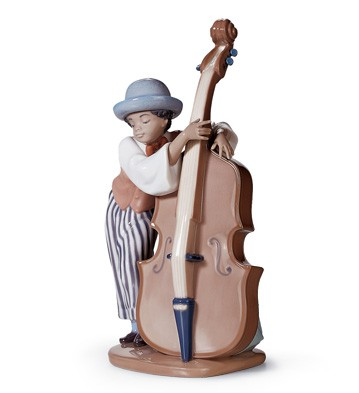 Jazz Bass Lladro Figurine