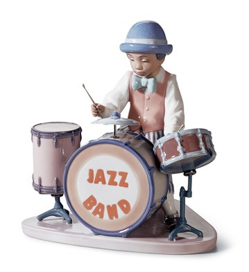 Jazz Drums Lladro Figurine