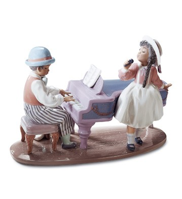 Jazz Duo Lladro Figurine