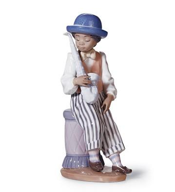 Jazz Sax Lladro Figurine