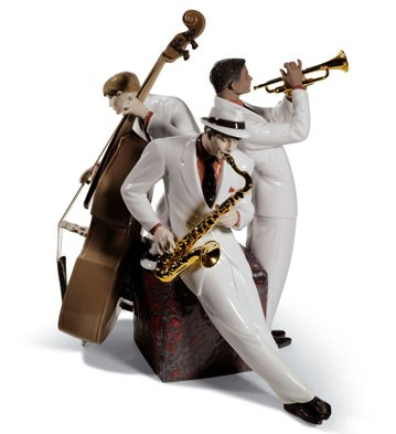 Jazz Trio Lladro Figurine