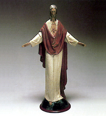 Jesus Christ -b- Lladro Figurine