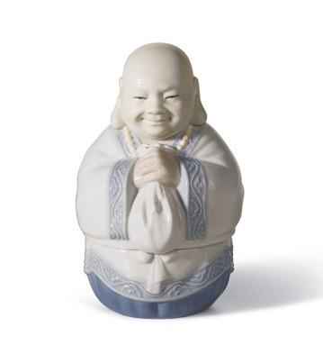 Jewelry Box (blue) Lladro Figurine