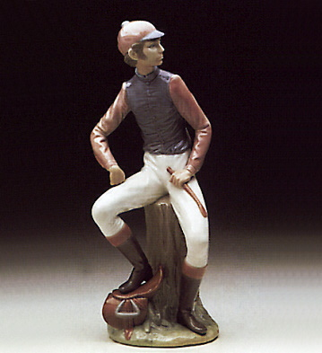Jockey Lladro Figurine