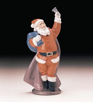 Jolly Santa Lladro Figurine