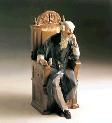 Judge (l.e.) Lladro Figurine